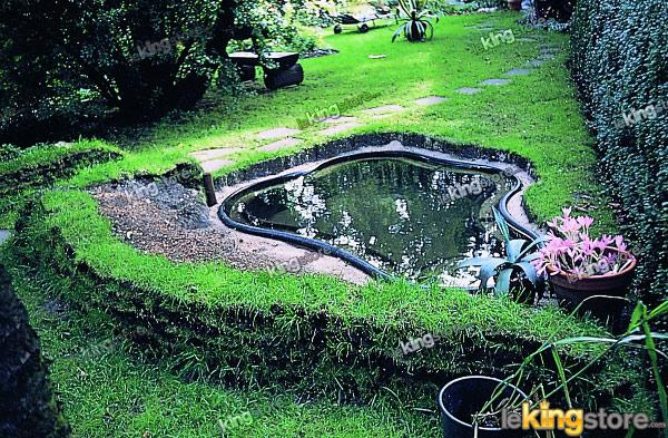 bassin preforme de jardin ocean 1500l a petit prix lekingstore. Black Bedroom Furniture Sets. Home Design Ideas