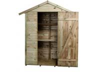 Abri de jardin en bois LEO 1.98 m² 193x83xh220 cm