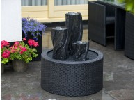 DecoWall Wicker pour Fontaine de Jardin 90 L - LeKingStore