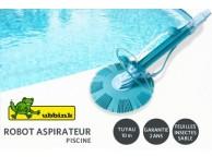 Aspirateur Automatique Piscine UBBINK 10m tuyau