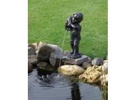 Statuette Yannick pour Décoration de Bassin de Jardin - LeKingStore