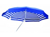 Parasol VENEZIA Duplex 200/8 cm Bleu et Blanc