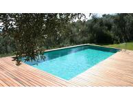 Kit Piscine Bois Hors Sol Rectangulaire REBECCA 920x420x145 cm