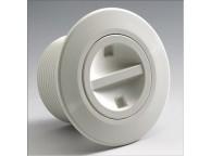 Prise Balai modèle STANDARD en ABS Blanc pour piscines béton