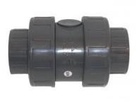 Clapet anti-retour simple PVC diamètre 63 mm