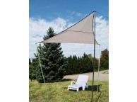 Voile d'Ombrage Triangulaire 3 x 3 m