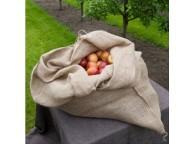 Lot de 3 sacs en jute avec cordelette de serrage, densité 230 gr/m2