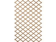 Treillage extensible en bois naturel 50 x 150 cm