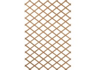 Treillage extensible en bois naturel 100 x 200 cm