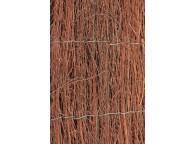 Brande de bruyère naturelle, épaisseur +/- 3 cm, 2 x 5 m