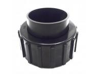 Raccord à visser D.50 Noir + Joint Poolfilter 400-500-600