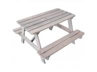 Table de pique-nique en bois pour enfant - Soulet