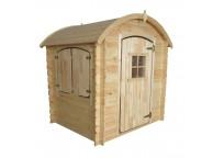 Maisonnette toit arrondi PATTY en bois pour enfant Soulet