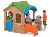 Maisonnette Enfants avec Barbecue - LEKINGSTORE
