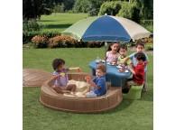 Espace De Jeux Enfant Bac A Sable Et Table De Pique-Nique Summertime lekingstore