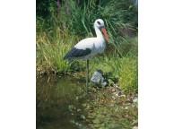 Cigogne pour Décoration de Bassin de Jardin - LeKingStore