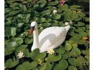Cygne Blanc pour Décoration de Bassin de Jardin - LeKingStore