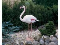 Flamant pour Décoration de Bassin de Jardin - LeKingStore
