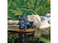 Deux Grenouilles pour Décoration de Bassin de Jardin - LeKingStore