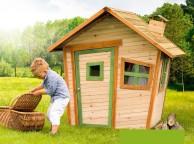 Maisonnette Cabane Enfant  Bois ALICE LEKINGSTORE