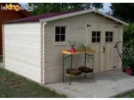 Abri de jardin en Bois 10.67m² BALTA  28 mm L 400 x P 300 cm - LEKINGSTORE