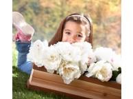 Bac a fleurs pour maisonnette enfant