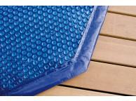 Bâche à Bulles pour piscine octogonale allongée 5.05 x 3.55 m 400 µ