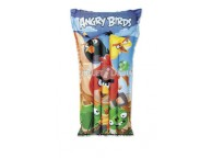 Matelas gonflable Angry birds 1.19 m x 61 cm pour piscine