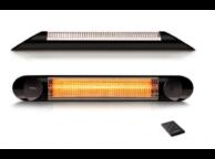 Chauffage électrique Infrarouge Fixe Blade 2000W Noir