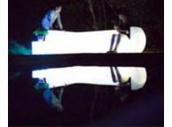Divan Droit Loonge Lumineux et Waterproof 71 cm x 96cm x H71 cm