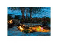 Boules LED de jardin