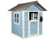 Cabane de jeu Lodge bleue
