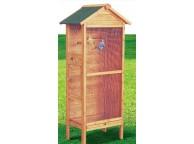 Cage à Oiseaux Standard 0.25m² pour 3/4 Oiseaux - LEKINGSTORE