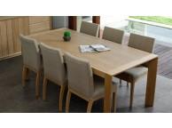 Table de repas chêne massif KUBICO TABLE 200 x 95 x 76