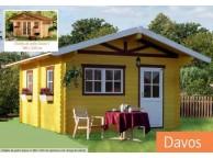 Chalet de Jardin en Bois 380 x 300 cm 11.40 m² DAVOS