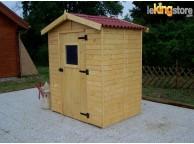 Abri de jardin en Bois 2.46 m² avec Plancher EDEN16 L 190 x P 190 cm - LEKINGSTORE