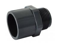 Raccord PVC Embout Fileté 3 diamètres 0.63 cm - LEKINGSTORE