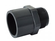 Raccord PVC Embout Fileté 3 diamètres 0.63/0.50cm - LEKINGSTORE