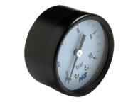 Manomètre Sec Boîtier ABS 50 mm de diamètre raccord axial 1/4''