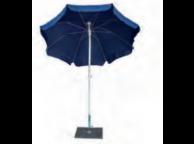 Parasol NOVARA -100/8 cm - diam 200 cm