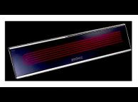 Chauffage électrique Infrarouge Fixe Platinium Noir 2300 W