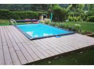 Piscine Bois Rectangulaire Composite SPICA 443 x 311 x 150 cm