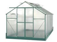 Serre Jardin Structure Alu Verte 10,33 m2