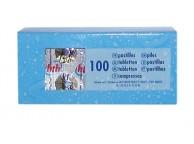 Recharges de pilules acide cyanurique boite de 100 pour piscine