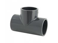 Raccord PVC Té 90° Réduit 50x32 - LEKINGSTORE