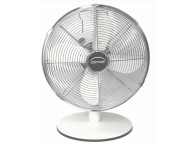 Ventilateur de table blanc diamètre 30 cm P: 37W