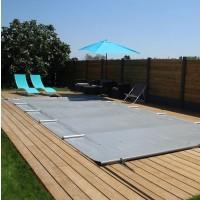 Bâche à barres pour piscine rectangulaire 625x425cm