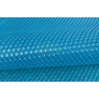 Bâche à bulles 180μ Bleu pour piscine rectangulaire 820x420 cm