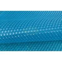 Bâche à bulles 180μ bleu pour piscine octogonale allongée 820X470 cm
