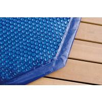 Bâche à Bulles pour piscine octogonale allongée 5.50 x 3.55 m 400 µ